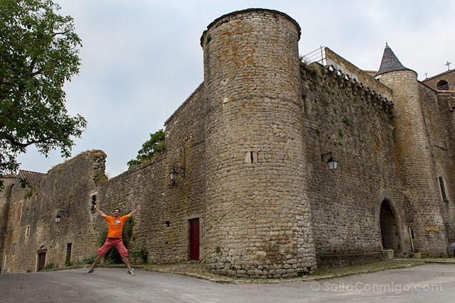 Francia Saint-Jean d'Alcas Templario Muralla Salto
