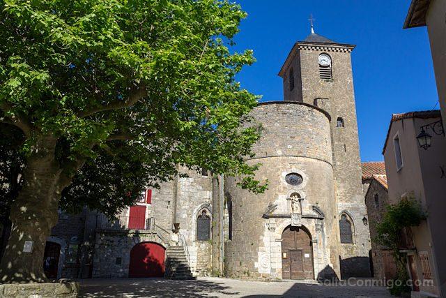Francia Sainte-Eulalie de Cernon Templario Abside Exterior