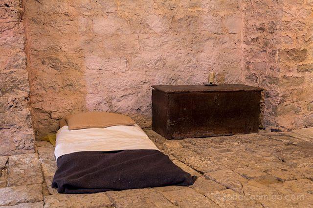Francia Sainte-Eulalie de Cernon Templario Dormitorio Templario