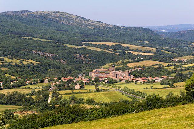 Francia Sainte-Eulalie de Cernon Templario Panorama