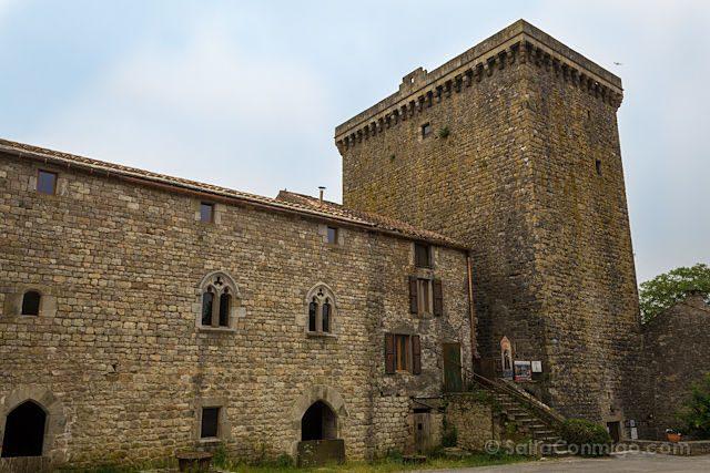 Francia Viala-du-Pas-de-Jaux Templario Torre