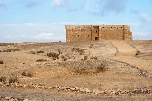 Jordania Castillos Desierto Qasr Al Kharanah