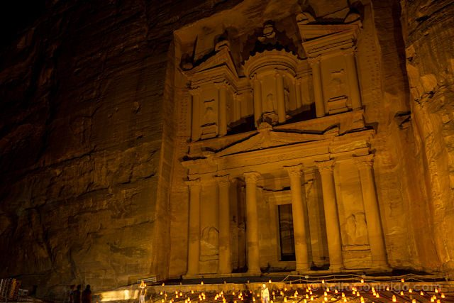 Jordania Tesoro Petra by Night