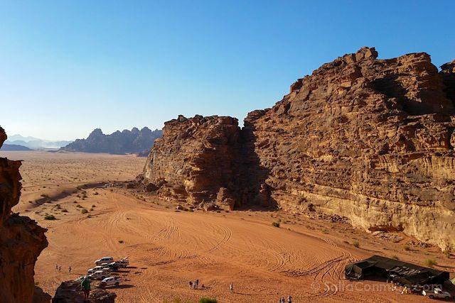 Jordania Wadi Rum Desde Roca
