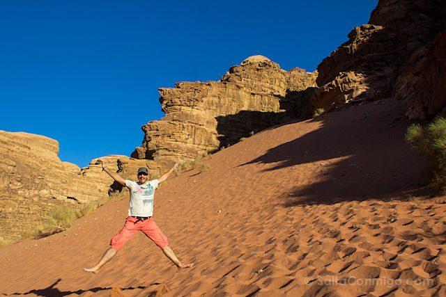 Jordania Wadi Rum Salto