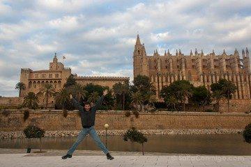Mallorca Palma Catedral Salto