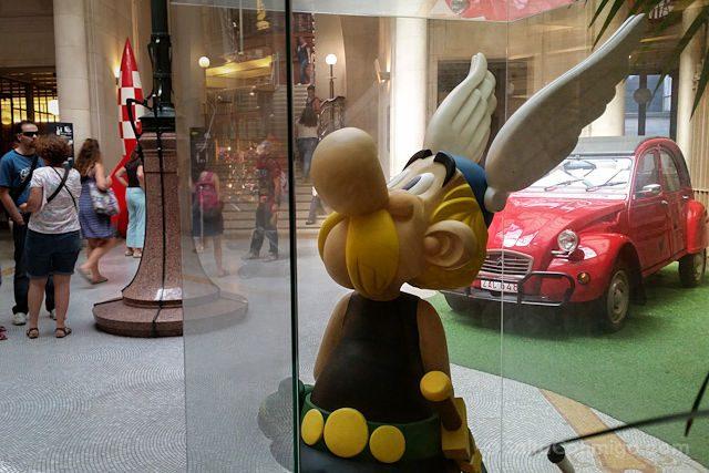 Belgica Bruselas Ruta Comic Asterix Museo