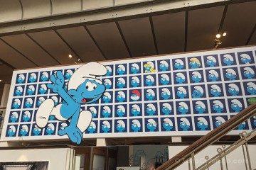 Belgica Bruselas Ruta Comic Pitufos Museo