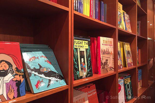 Belgica Bruselas Ruta Comic Tienda Tintin