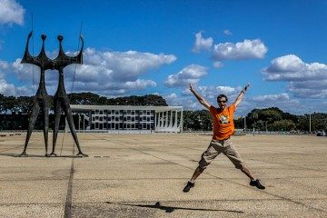Brasil Brasilia Plaza Tres Poderes Candangos Salto