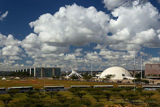 Brasil Brasilia Vista Estacion Central