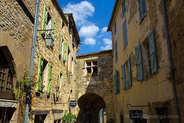 Francia Midi-Pyrenees Cordes-sur-Ciel