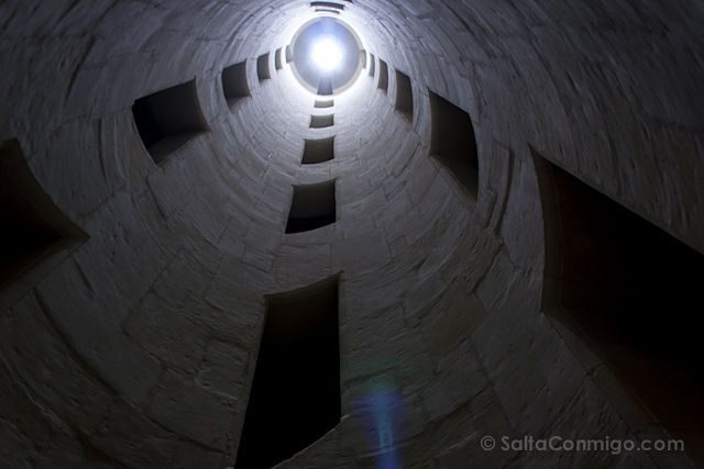 Francia Valle Loira Castillo Chambord Interior Escalera