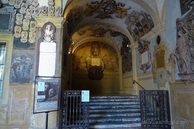 Italia Bologna Bolonia Archiginnasio
