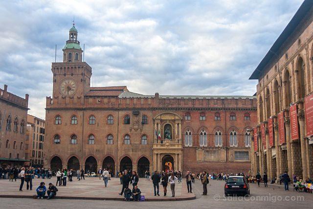 Italia Bologna Bolonia Piazza Maggiore
