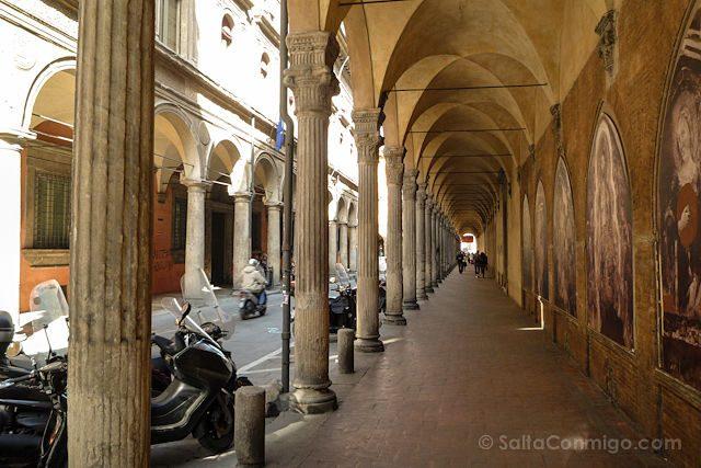 Italia Bologna Bolonia Soportales