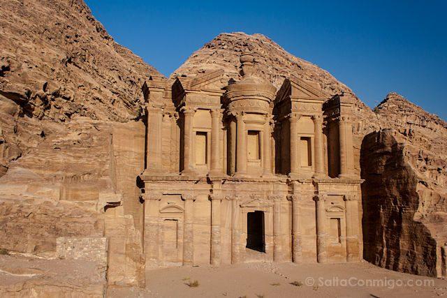 Jordania Petra Monasterio Al-Deir