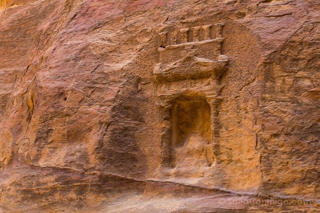 Jordania Petra Relieve Siq