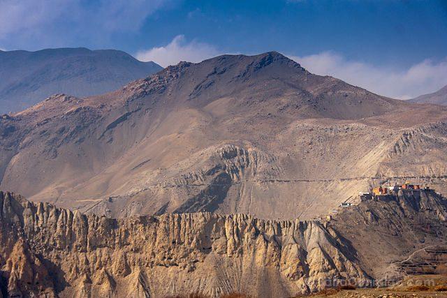 Nepal Kilometro Vertical Annapurnas Poblado Desierto