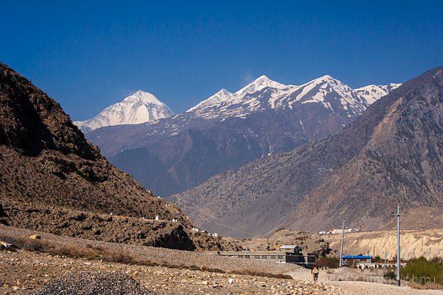 Nepal Kilometro Vertical Annapurnas Salida Jomson