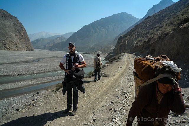 Nepal Kilometro Vertical Rio Kali Gandaki Sherpa