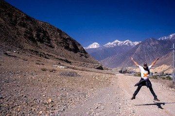 Nepal Kilometro Vertical Salida Jomson Salto