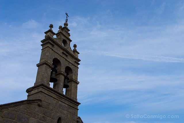 Postales Camino de Santiago Espadana Iglesia