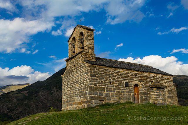 Vall De Boi Postales Durro Ermita Sant Quirc
