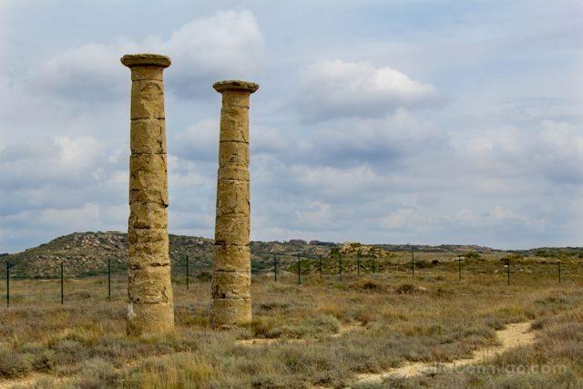 Aragon Zaragoza Los Bañales Yacimiento Romano