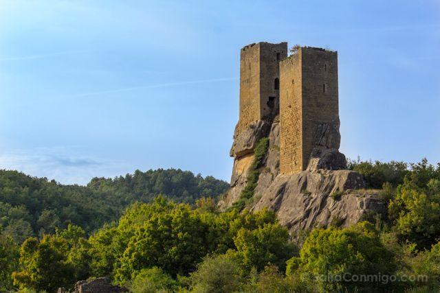 Aragon Zaragoza Luesia Castillo Sibirana