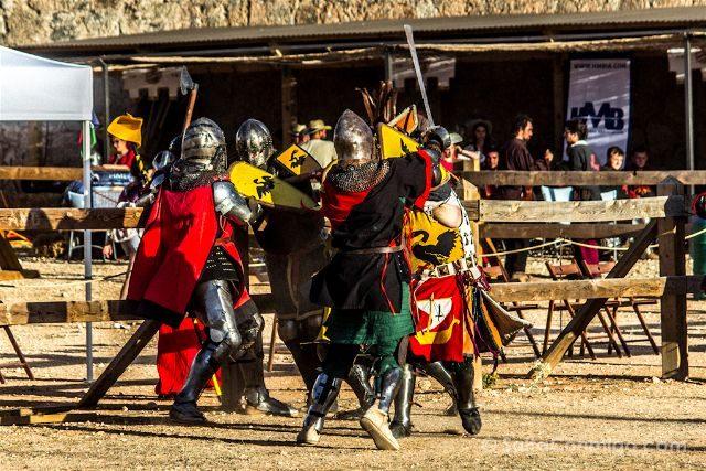 Cuenca Belmonte Combate Medieval