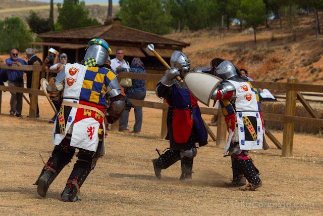 Cuenca Castillo Belmonte Combate Medieval