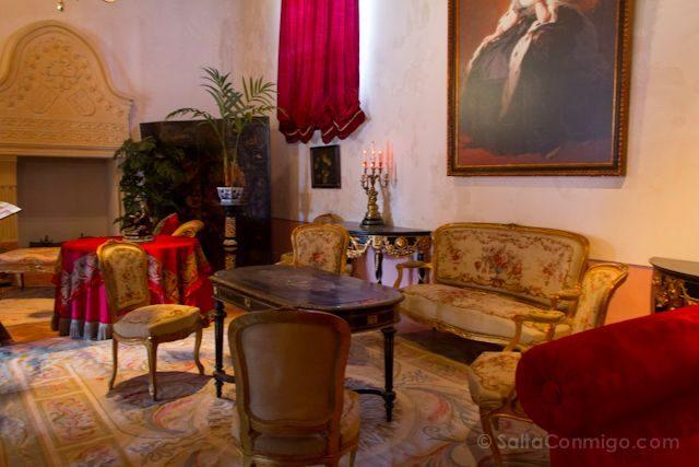 Cuenca Castillo Belmonte Salon XIX