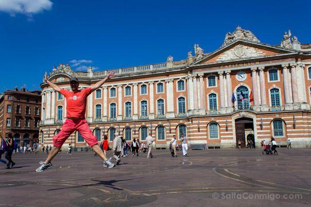 Francia Toulouse Ayuntamiento Salto