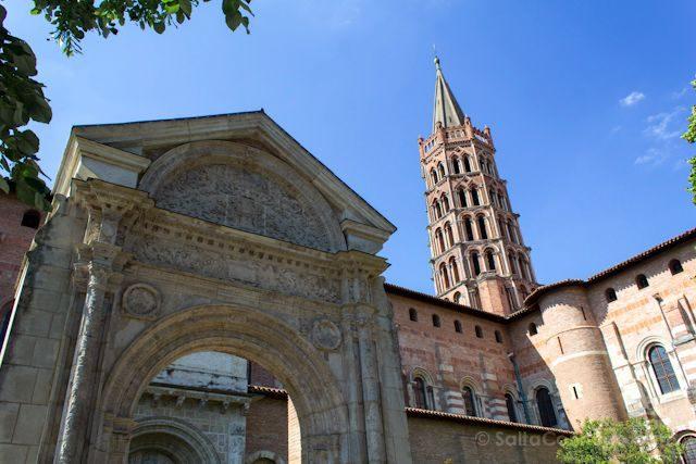 Francia Toulouse Basilica Saint Sernin Exterior