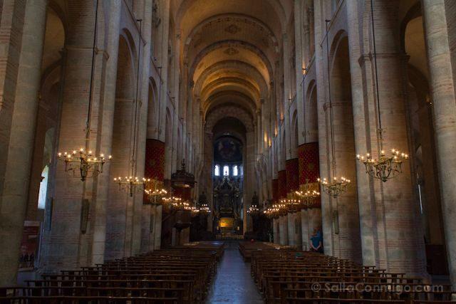 Francia Toulouse Basilica Saint Sernin Interior