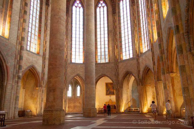 Francia Toulouse Convento Jacobinos Suelo