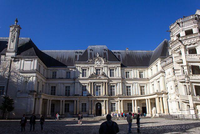 Francia Valle Loira Castillo Real Blois Clasicismo Gaston Orleans