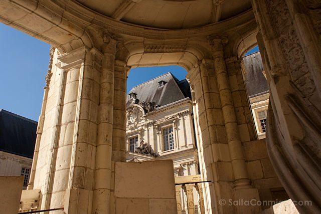 Francia Valle Loira Castillo Real Blois Escalera Renacimiento Francisco I