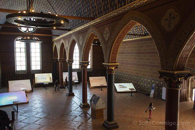 Francia Valle Loira Castillo Real Blois Gotico Sala Estados