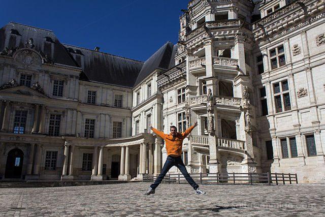 Francia-Valle-Loira Castillo Real Blois Salto