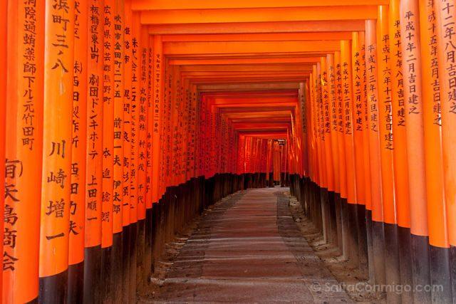 Japon Fushimi Inari-Taisha