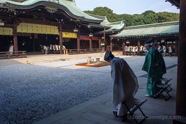 Japon Tokyo Meiji Ceremonia