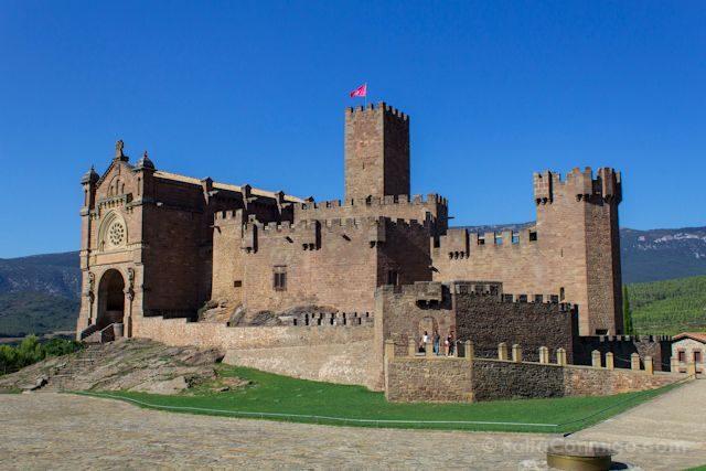 Navarra Castillo de Javier