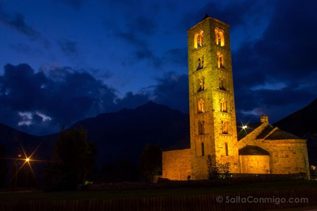 Vall De Boi Sant Climent Taull Nocturna