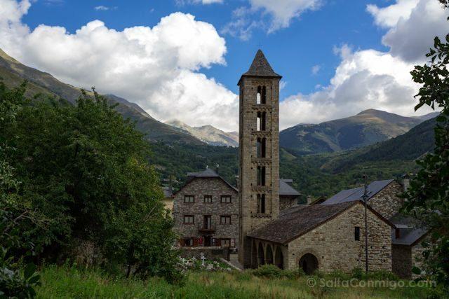 Vall De Boi Santa Eulalia Erill La Vall