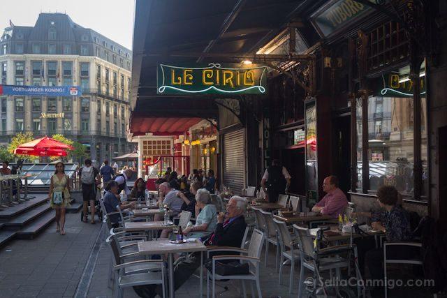 Bruselas Art Nouveau Cafe Le Cirio Henri Coosemans