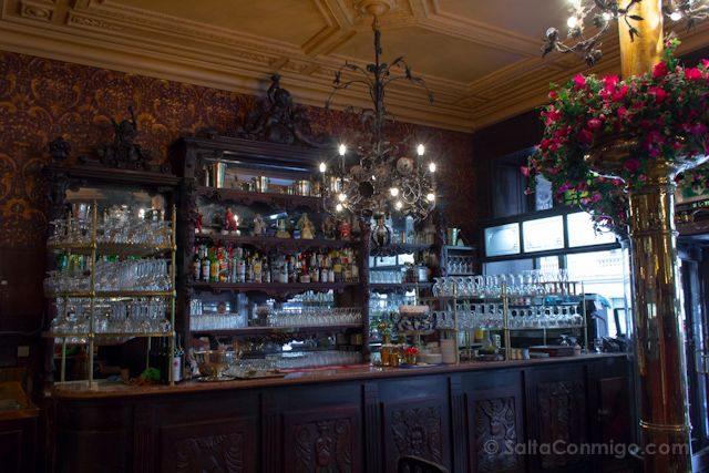 Bruselas Art Nouveau Cafe Le Cirio Interior
