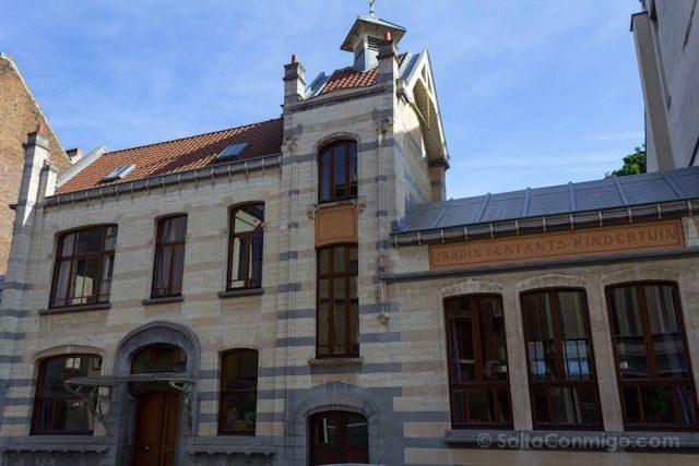 Bruselas Art Nouveau Guarderia Victor Horta