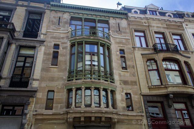 Bruselas Art Nouveau Hotel Tassel Victor Horta